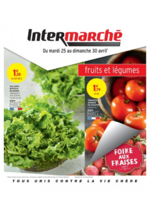 Prospectus Intermarché Super : Fruits et légumes