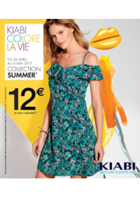 Prospectus Kiabi VILLEBON SUR YVETTE : Welcome Summer