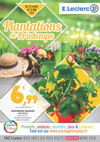 Prospectus E.Leclerc RUEIL MALMAISON : Plantations de Printemps