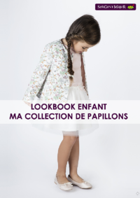 Catalogues et collections Sergent Major Oostende : Lookbook enfant Ma collection de papillons