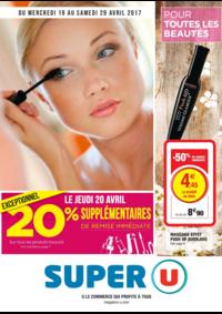 Prospectus Super U PARIS - AV. CLICHY : Pour toutes les beautés