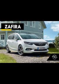 Catálogos e Coleções Opel Torres Vedras : Catálogo Opel Zafira