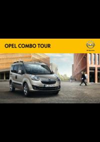 Catálogos e Coleções Opel Agualva - Cacém : Catálogo Opel Combo Tour