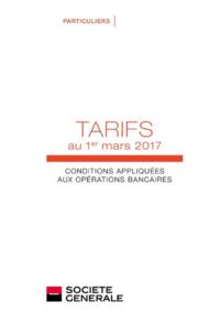 Tarifs Société Générale PARIS 17 RUE SARRETTE : Découvrez les tarifs