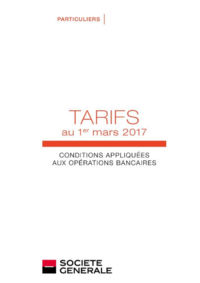 Tarifs Société Générale BUC : Découvrez les tarifs