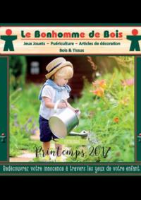 Catalogues et collections Le Bonhomme de Bois Boulogne : Feuilletez le catalogue printemps 2017