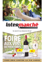 Prospectus Intermarché Super : Foire aux vins de Printemps