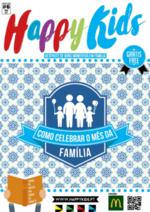Jornais e revistas Mc Donald's : Happy Kids - Maio 2017