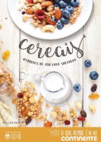Folhetos Continente Modelo Montijo : Cereais, momentos do dia para saborear