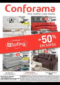 Folhetos Conforama Porto - Vila Nova de Gaia : Até -50% em sofás