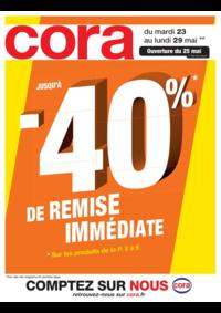 Prospectus Cora MOLSHEIM : Jusqu'à -40% de remise immédiate