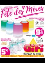Prospectus Gifi : Fête des mères