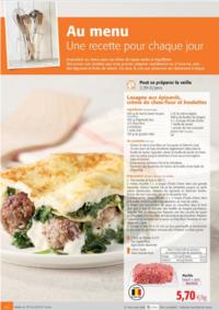 Prospectus Colruyt ANDERLECHT - VEEWEYDE : Au menu, une recette pour chaque jour