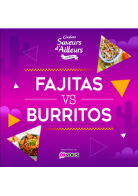 Prospectus Supermarchés Casino CHATENAY MALABRY : Fajitas VS Burritos