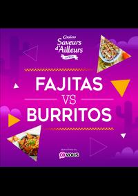 Prospectus Supermarchés Casino POISSY : Fajitas VS Burritos