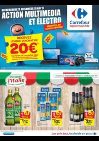 Prospectus Carrefour AUDERGHEM / OUDERGHEM : Action multimédia et électro