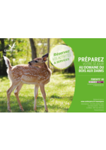 Catalogues et collections  : Préparez votre séjour au domaine Bois aux Daims