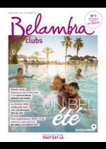 Promos et remises  : Belambra clubs été 2017