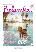 Catalogues et collections  : Belambra clubs 2017