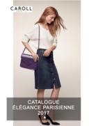 Catalogues et collections caroll Créteil : Lookbook Élégance Parisienne