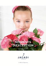 Promos et remises  : Moments d'exception - printemps-été 2017