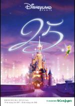 Catálogos e Coleções Viagens El Corte Inglés : Disney 2017