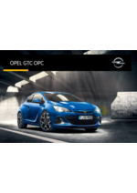 Catalogues et collections opel : Opel GTC OPC
