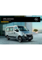 Catalogues et collections opel : Opel Movano transport de personnes