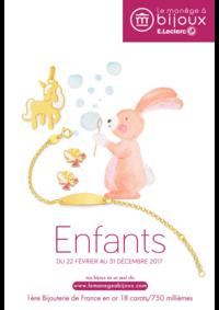 Catalogues et collections Le Manège à Bijoux E.Leclerc ORLY : Le catalogue Enfants