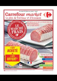 Prospectus Carrefour Market CACHAN : Le marché frais