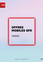 Catalogues et collections  : Offres mobiles SFR