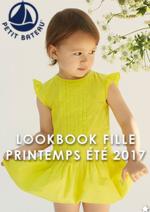 Promos et remises  : Lookbook fille printemps été 2017