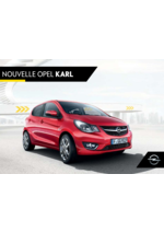 Catalogues et collections opel : Nouvelle Opel Karl