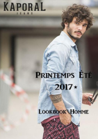 Catalogues et collections Kaporal Paris 13 : Lookbook homme été 2017