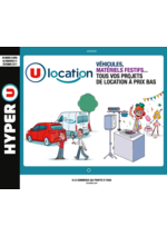 Promos et remises  : U location