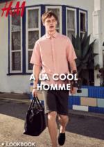 Catalogues et collections H&M : Lookbook homme A la cool