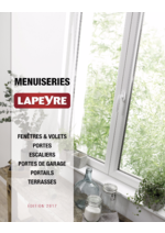 Catalogues et collections Lapeyre : Catalogue Menuiseries 2017
