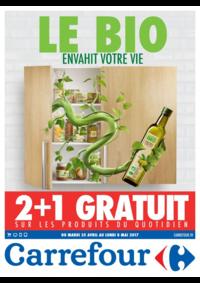 Prospectus Carrefour CHARENTON LE PONT : Le bio envahit votre vie