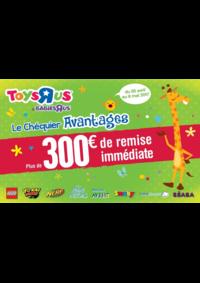 Promos et remises Babies R Us ÉRAGNY Centre commercial Art de Vivre : Plus de 300€ de remise immédiate