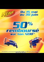 Bons Plans King Jouet : 50% remboursé sur une sélection de produits Nerf