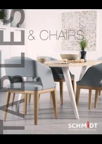 Catalogues et collections Cuisines Schmidt BOULOGNE-BILLANCOURT : Tables & Chairs 2017