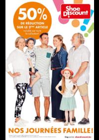 Prospectus Shoe Discount BOUGE : Nos journées famille !