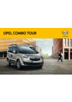 Catálogos e Coleções Opel : Catálogo Opel Combo Tour
