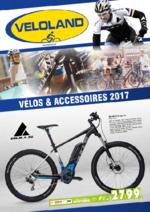 Catalogues et collections VELOLAND : Vélos et accessoires 2017