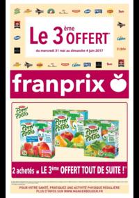 Prospectus Franprix BOULOGNE BILLANCOURT 35 av. Général Leclerc : Le 3ème offert