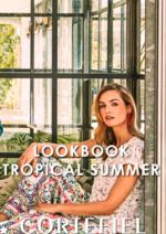 Catálogos e Coleções Cortefiel : Lookbook: Tropical Summer