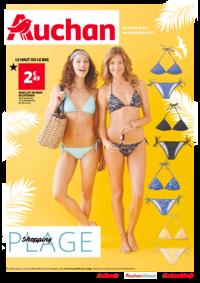 Prospectus Auchan Val d'Europe Marne-la-Vallée : Shopping plage