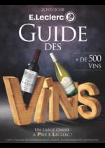 Prospectus E.Leclerc : Guide des vins