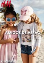 Catálogos e Coleções H&M : Lookbook Amigos de Verão
