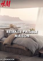 Catalogues et collections H&M : Lookbook maison Retraite paisible
